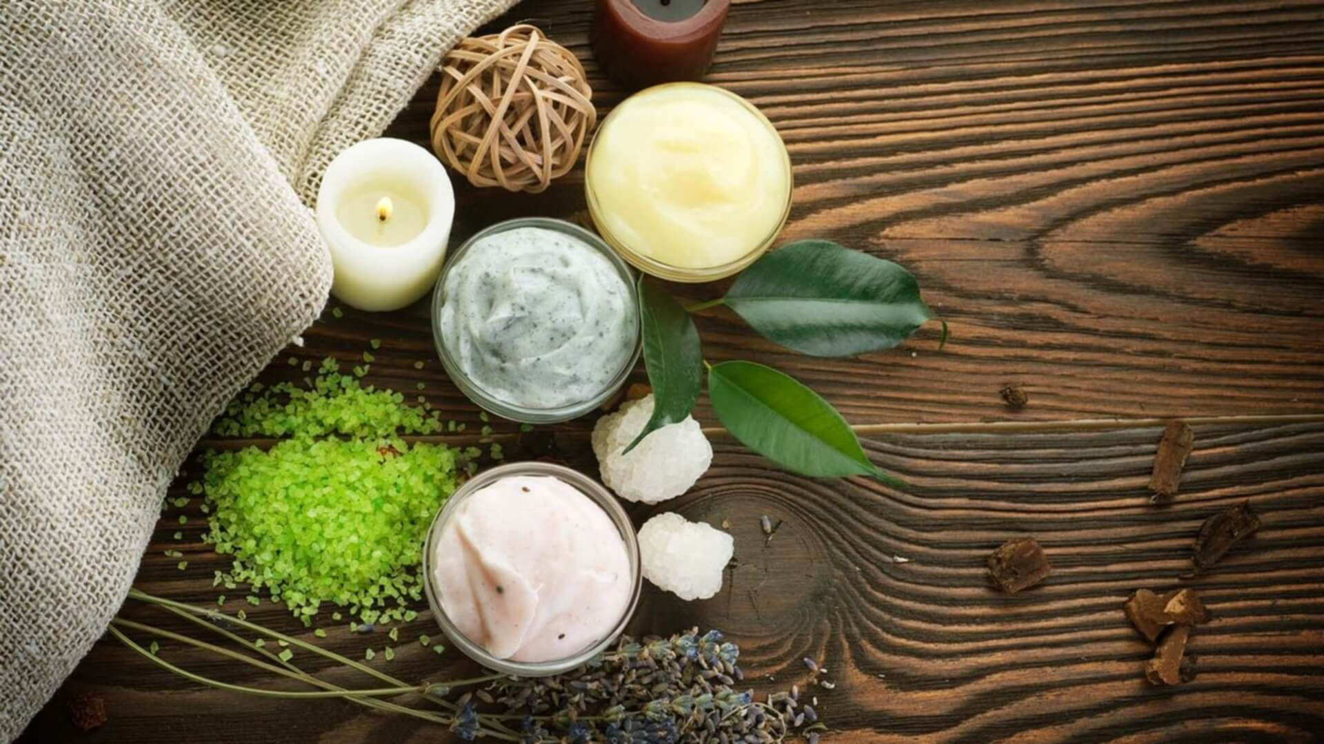 Herbal Remedies For Skin Care Herbal Stock