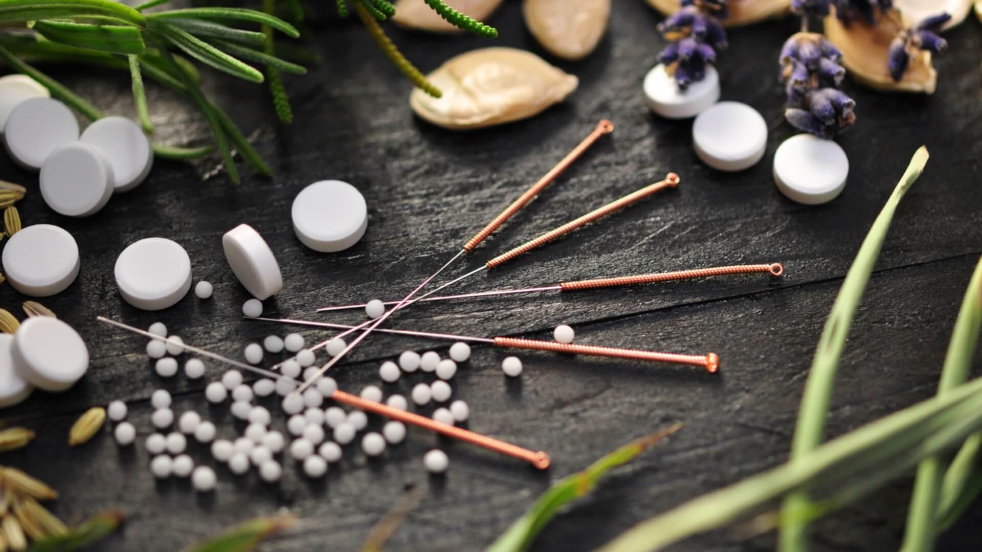 Acupuncture in alternative medicine